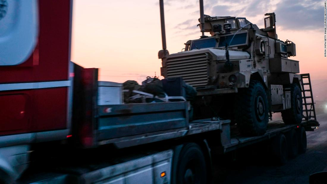 US considers deploying armored vehicles in Syria