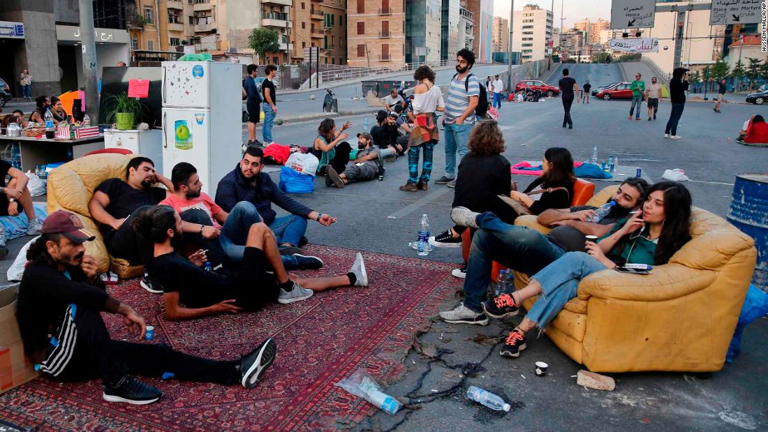 Young Iraqis and Lebanese aren't just demanding better societies. They're creating them at protest sites